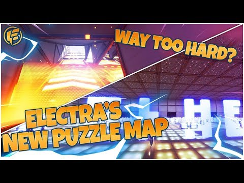 STREAMERS TRY ELECTRA'S *NEW* PUZZLE MAP (PART 1)