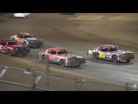 IMCA Hobby Stock feature Independence Motor Speedway 8/5//17