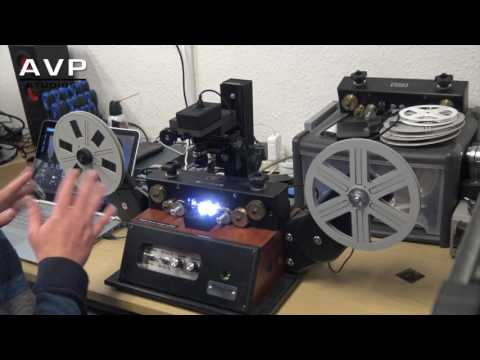 Transferring your cine films