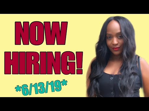 NEW List Of Work From Home Jobs Available Now