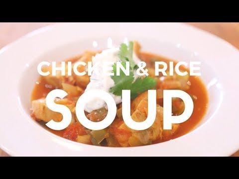 Spanish Chicken & Rice Soup Recipe