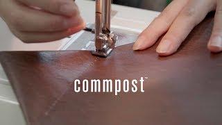 廃棄衣料を蘇らせる「commpost」