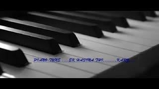Ek Hasina Thi .....!! Piano very easy! By CK