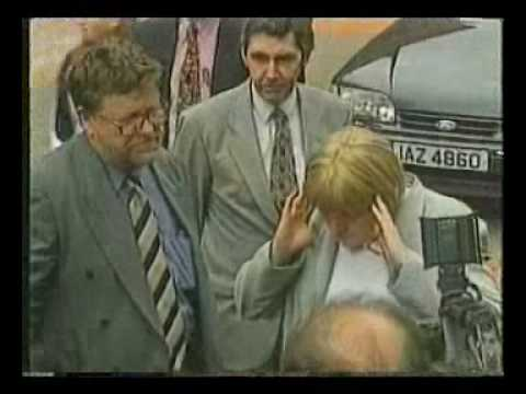 Mo Mowlam's First Walkabout in Belfast, May 1997