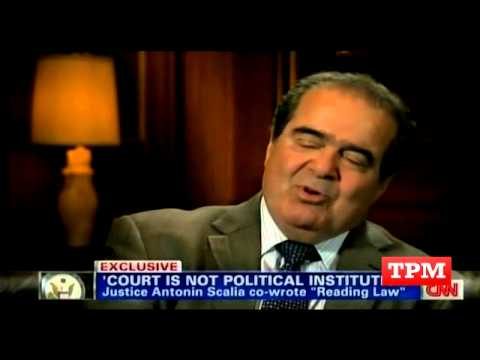Scalia Discusses His Relationship With John Roberts After 'Obamacare'