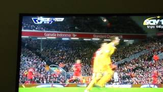 Fabianski's mistake vs Liverpool 30/12/2014