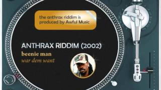 Anthrax medley (2002): Mad Cobra,Bounty Killer.Beenie Man,Buju Banton,Sizzla