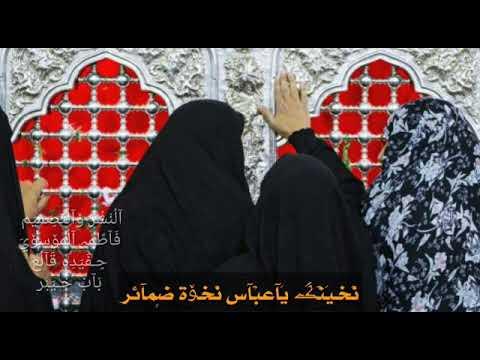 نخوه الإمام العباس ع للصحاب الحوائج 2018 Youtube