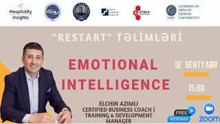 ReStart 8 | Emotional Intelligence | Elchin Azimli