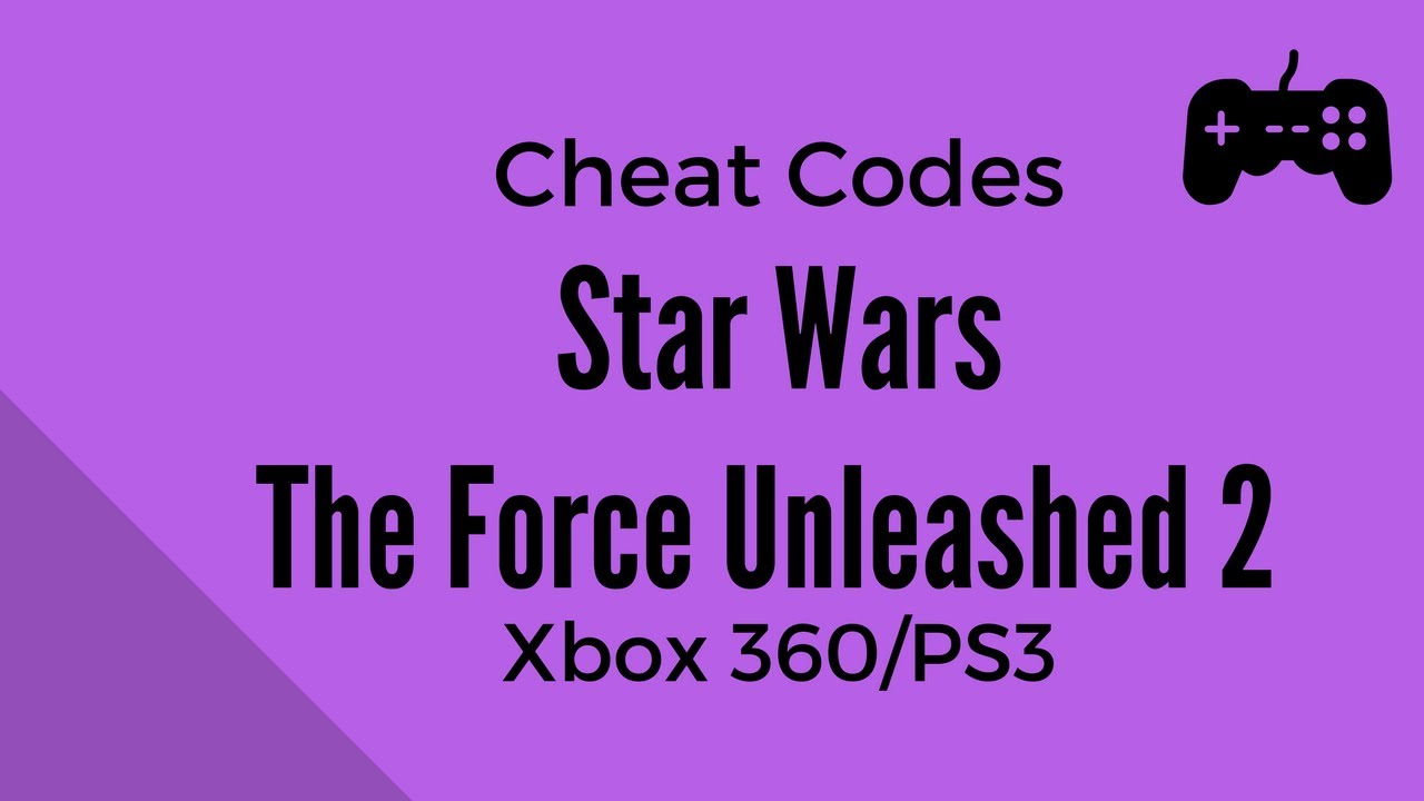 Star Wars The Force Unleashed 2 <b>Cheat Codes</b> - Xbox 360 and ...