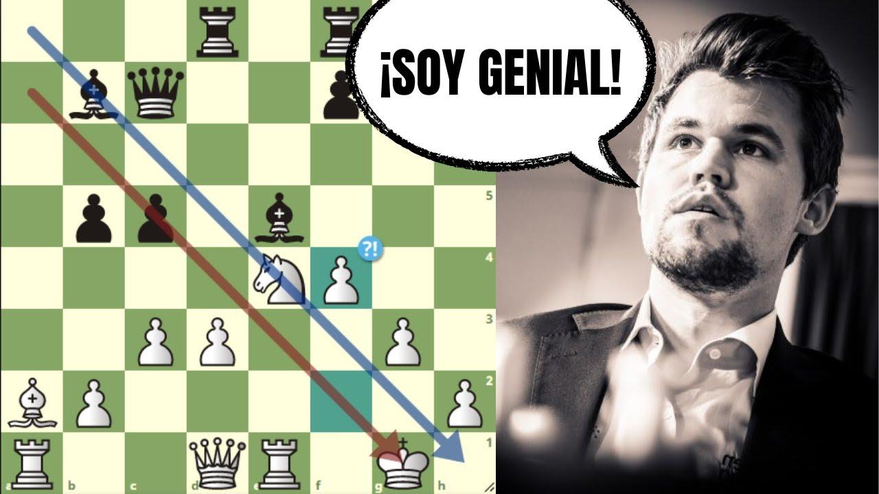 ¡SACRIFICA LA DAMA POR ATAQUE! 😱: Bacrot vs Carlsen (Copa del Mundo FIDE)