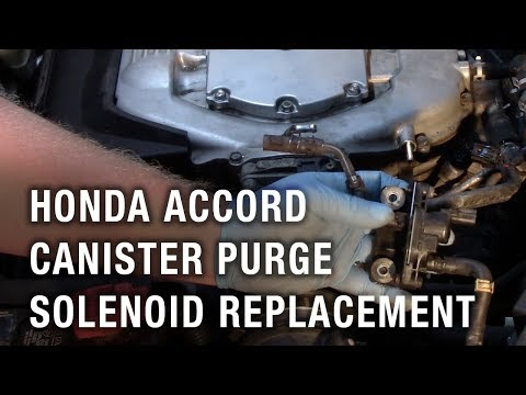 Honda Accord Canister Purge Solenoid Replacement