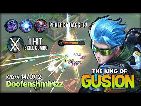 Perfect Dagger! You Should Ban Gusion! King of Gusion Doofenshmirtzz ~ Mobile Legends