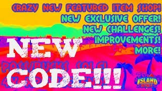 *NEW* CASH CODE ON ROBLOX ISLAND ROYALE!!! #52