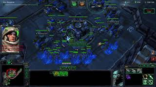Starcraft ll Co-op Solo Slowruns: Raynor P3 Battlecruisers only on Dead of Night