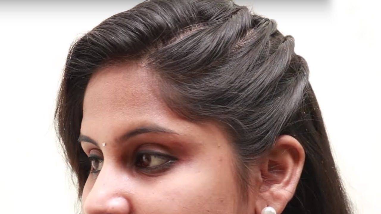 1 Min Hairstyles For Party Wedding Function Simple Hairstyle Step By Step Simply Hair Style