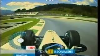 F1 A1-Ring 2001 - Juan Pablo Montoya Onboard