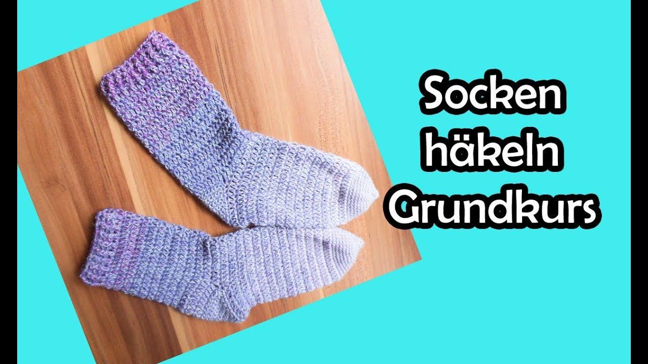 Relativ Socken häkeln - romyfischers Webseite! WI59