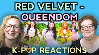 First Time Kpop Reaction to Red Velvet 레드벨벳 'Queendom' MV. T…