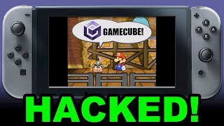 Nintendo Switch Hacked to Play GAMECUBE (and Wii?) Games!