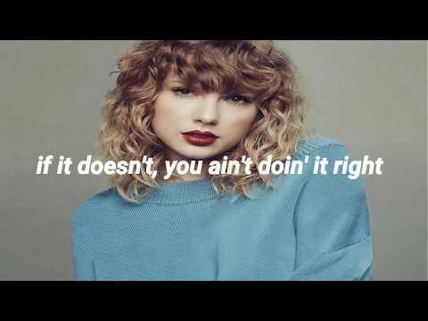 Don't Blame Me // Taylor Swift // (Oficial Lyrics)