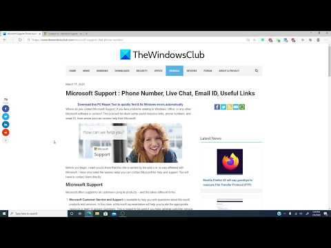 How To Contact Microsoft Support By Chat, Email, Phone, Etc.