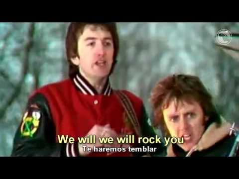 Queen - We Will Rock You - Subtitulado Español & Inglés