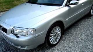 2005 Volvo S80 2 4 D5 SE LUX Auto LEATHER SAT NAV HUGE SPEC
