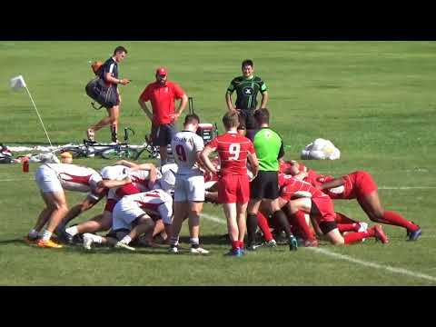 (WI-17') Collegiate Rugby - Indiana vs. Wisconsin (B-Side Match) 9/23/17