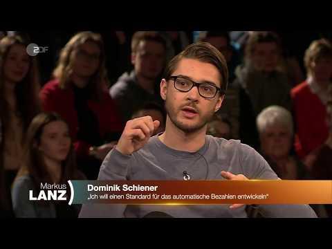 IOTA Mitgründer Gründer Dominik Schiener zu Gast bei Markus Lanz (20.03.2018)