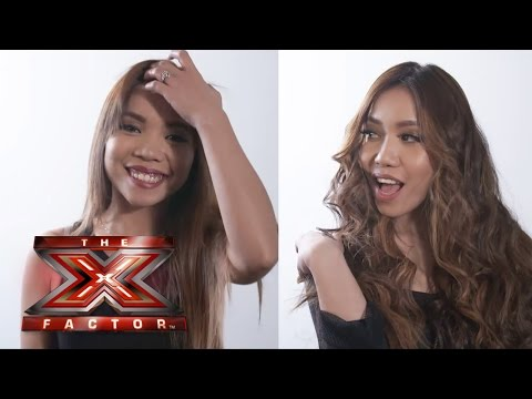 Celina & Almira from 4th Impact at The X Factor Tour with Babyliss
