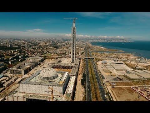 جامع الجزائر الجديد في جو مهيب -grande mosquée d'Alger