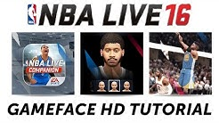 NBA Live 16 Gameface HD Out Now! + Full Tutorial #NBALIVE16