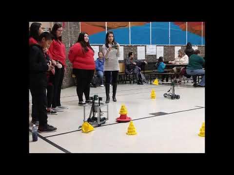 Hanks Robotics Students visit Glen Cove for Math & Science Fair