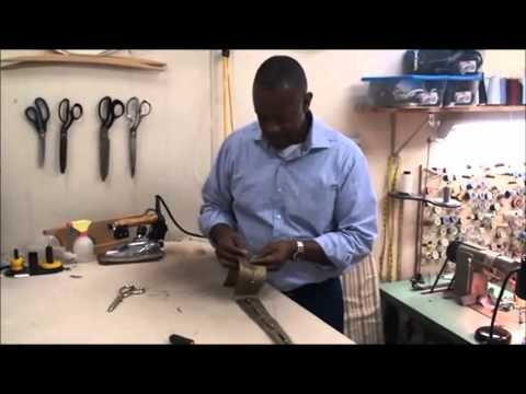 How to make a HAND-CRAFTED tie with Robert Surratt