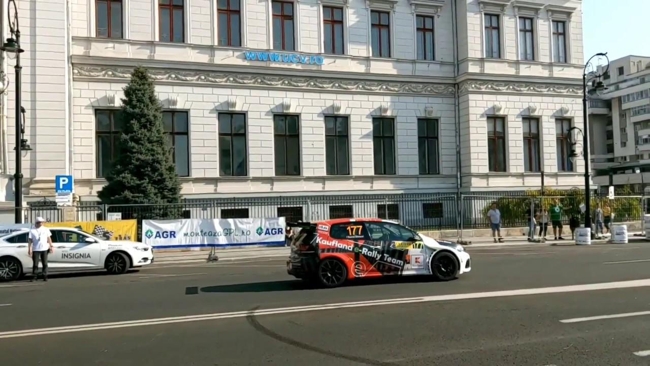 Masina electrica Kaufland e-Rally Team in Craiova