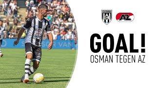 GOAL 🎯 |  Mohammed Osman tegen AZ