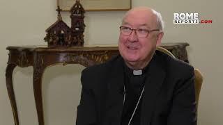 "Card. Farrell, nuevo Camarlengo, bromea: ""Le dije al Papa: 'Acepto, si usted habla en mi funeral'"""