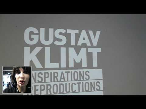Visiting Vienna Austria - Gustav Klimt Expo Video Blog By Simona Cochi