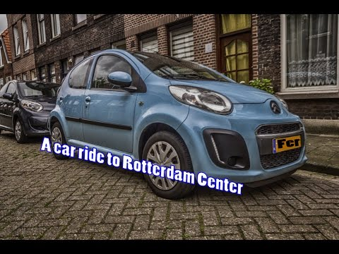 A car ride to Rotterdam Center
