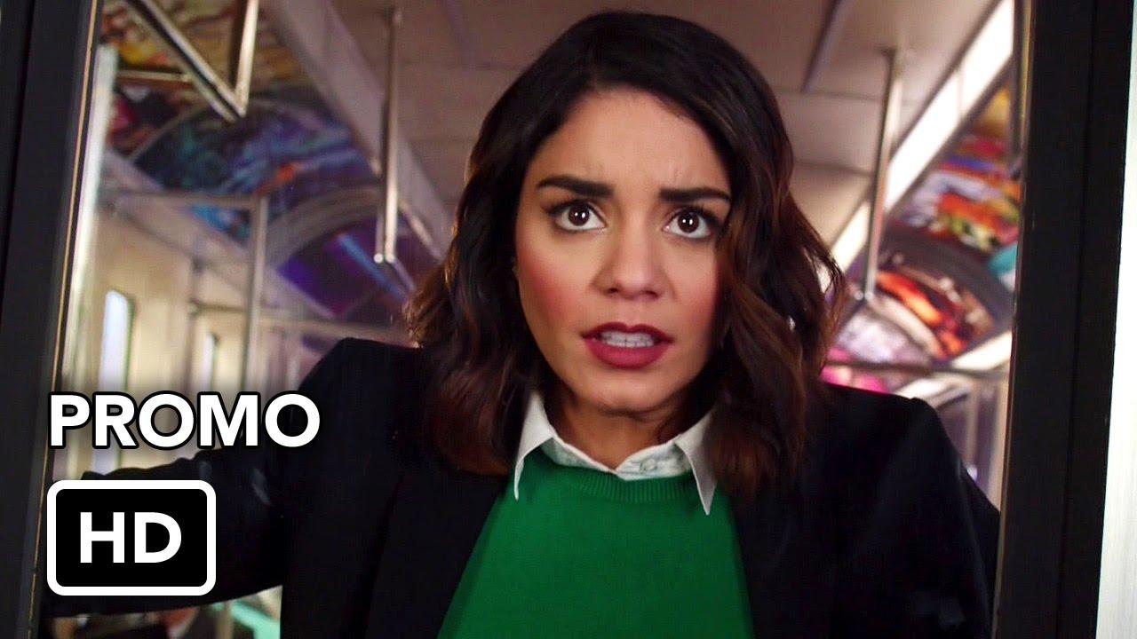 "Download Powerless (NBC) ""Morning Commute"" Promo HD - Vanessa Hudgens comedy series"