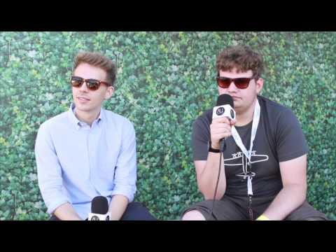 Bondax: Interview at Listen Out - Sydney, Australia (2014)