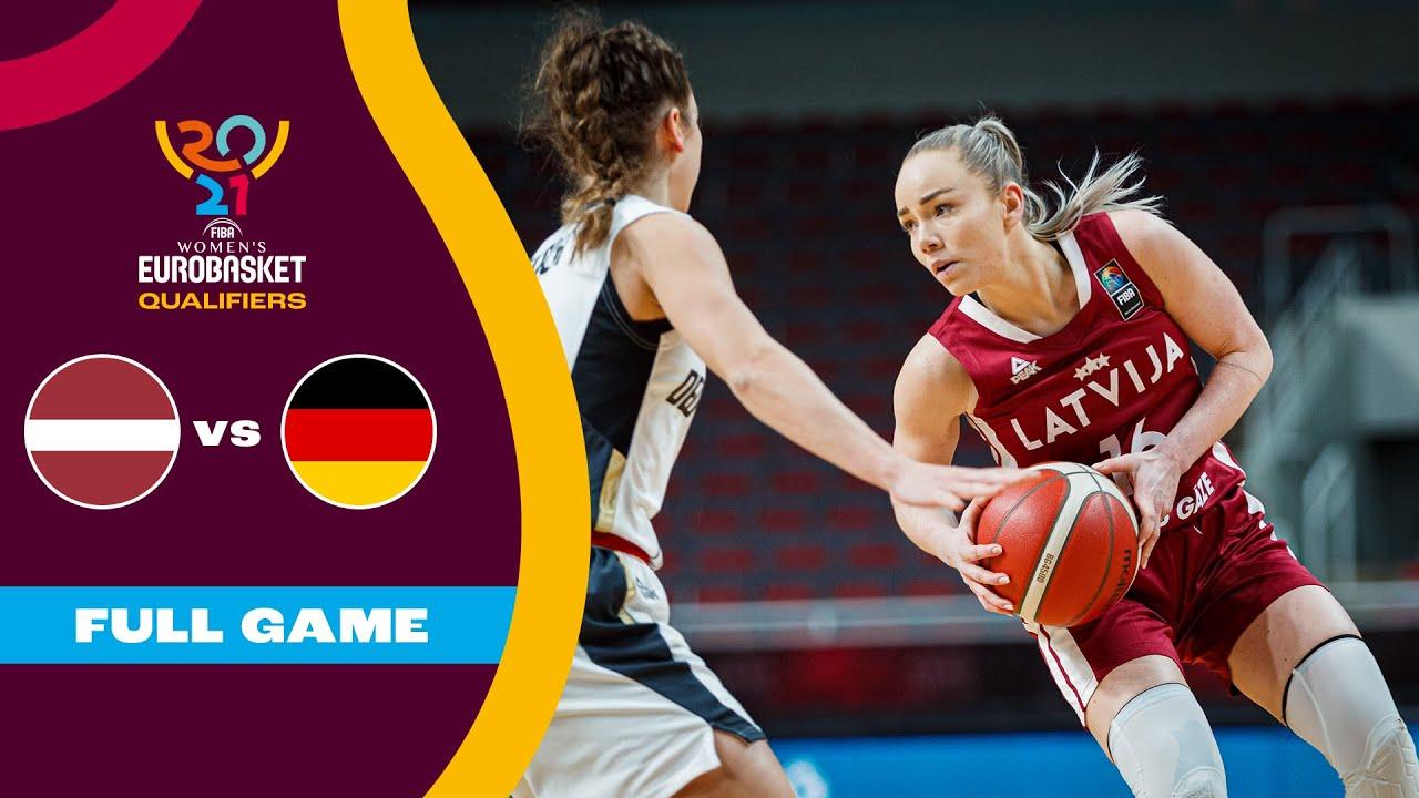 Latvia v Germany   Full Game