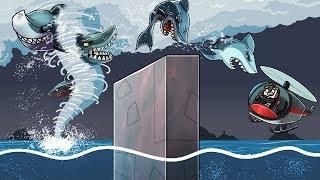 Jaws Movie 3 - TORNADO + SHARK = SHARKNADO! (Minecraft Roleplay)
