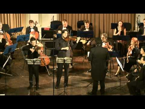 W. A. Mozart. Concert symphony for violin, viola, and orchestra