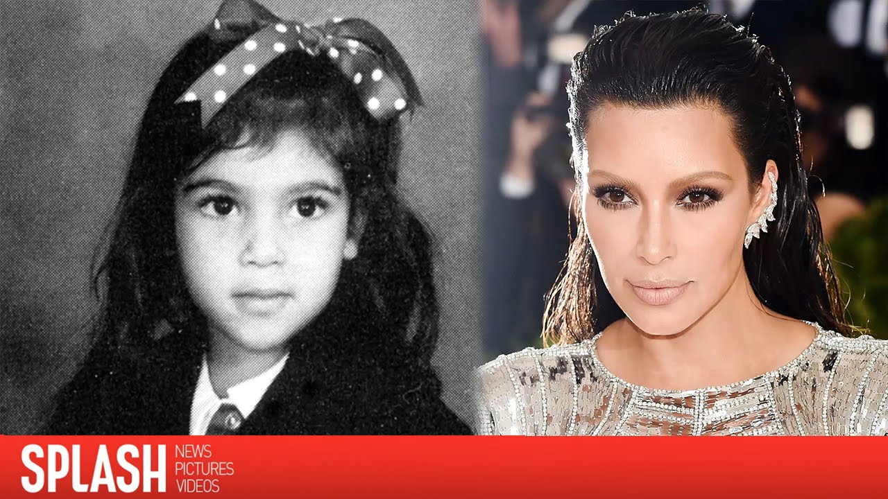 Watch Kim Kardashian Age 33 Years Right Before Your Eyes Splash