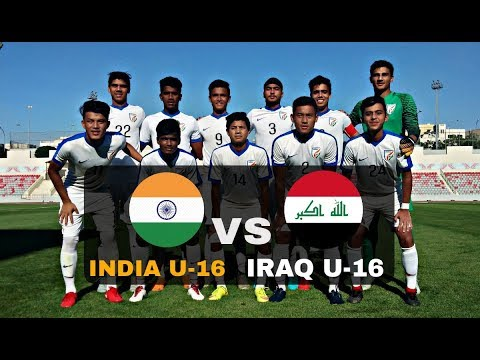INDIA U-16 1-0 IRAQ U-16 – FULL MATCH HIGHLIGHTS – 720P