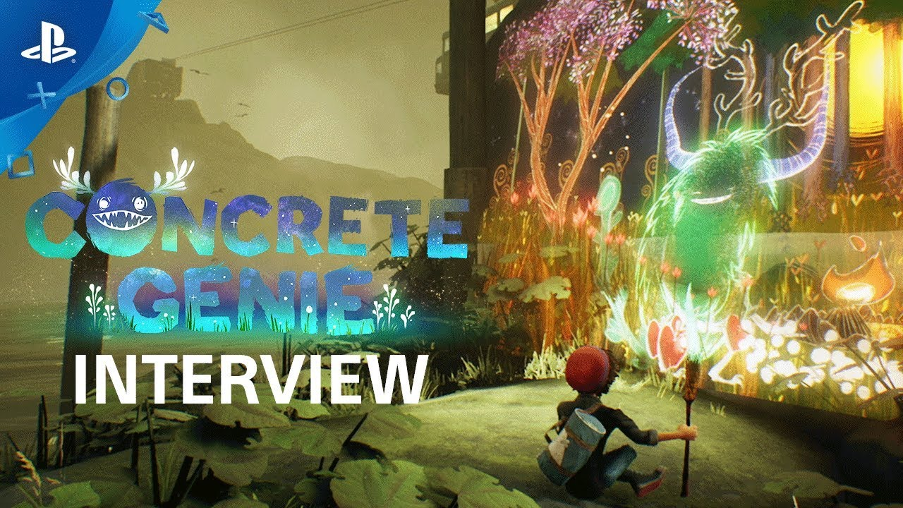 Concrete Genie - Bringing Your Imagination to Life Interview | PS4