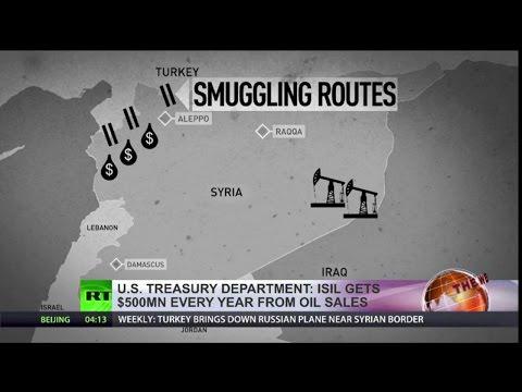 ISIS Smuggled oil flows through Turkey