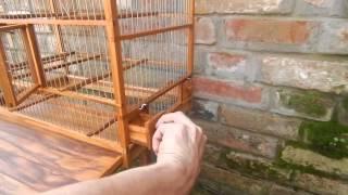 Wooden Bird Cage 3